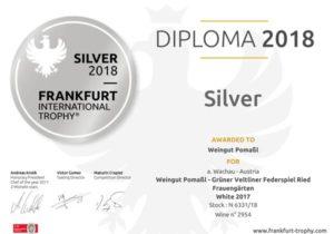 Urkunde Frankfurt Silber_2018