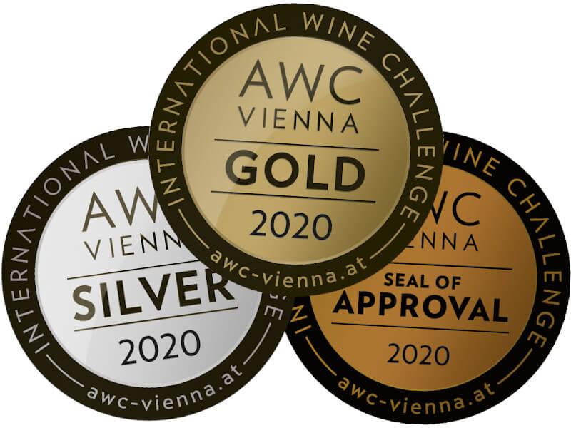 AWC-Vienna Medaillen